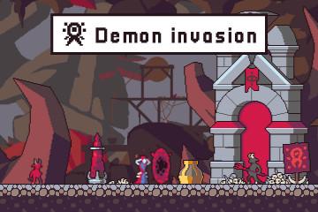 Demon Invasion Pixel Art Game Assets Pack