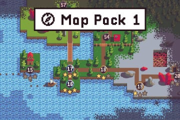 Free Level Map Pixel Art Assets Pack
