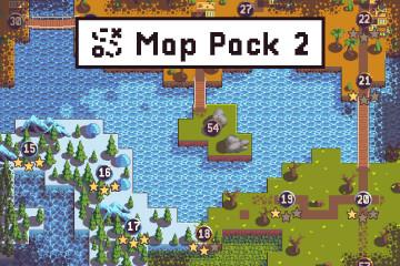 Level Map Pixel Art Assets Pack 2
