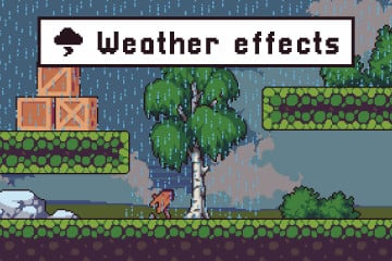 Weather Effects Pixel Art Assets Pack