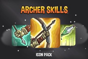 Archer Skills Icon Pack