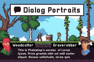 Portraits for Dialogues Assets Pack