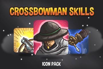Crossbowman Skills Icon Pack