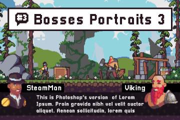 Ruin Boss Portrait Assets Pack