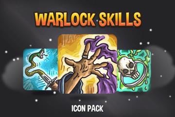Warlock Skills Game Icons