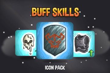 Buff Skill RPG Icon Pack