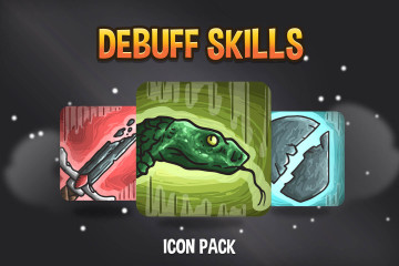 DeBuff Skill Icon Pack