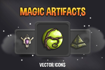 Magic Artifact RPG Icons