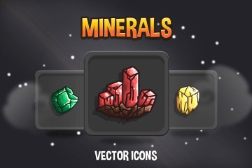 Mineral RPG Icon Pack