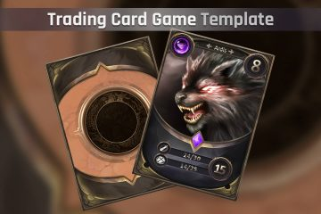 RPG Trading Card Template