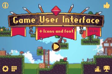 Game User Interface Pixel Art