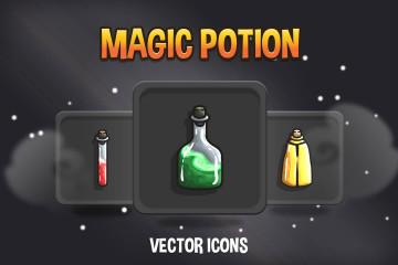 Magic Potion RPG Icon Pack