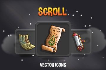 Scroll RPG Icons