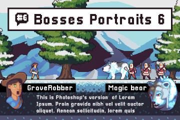Free Boss Portrait Pack 6