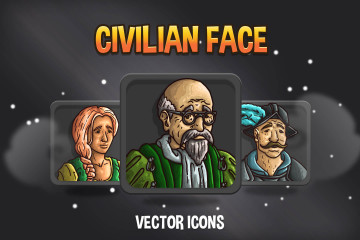 Free Character Avatar Icons