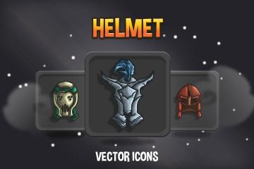 48 Helmet RPG Icons